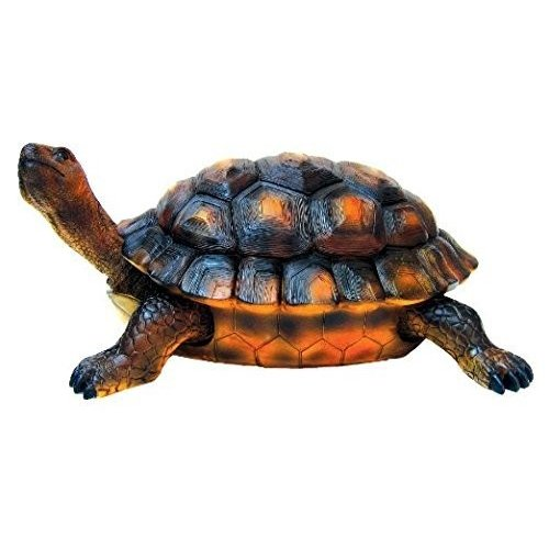Collectible Badges Large Resin Garden Turtle Figurine