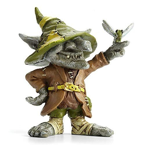 Remy, Remy, Remy, Troll with Dragonfly for Miniature Garden, Fairy Garden cd3