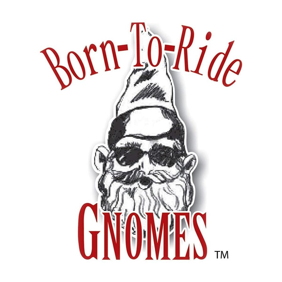 Nowaday Gnomes Biker Babe the Biker Gnome in Leather Motorcycle Gear R