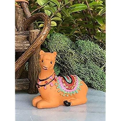 ShopForAllYou Figurines and Statues Miniature Fairy Garden ~ Mini Sitt