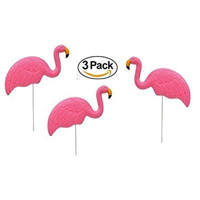 ピンク Flamingo Lawn Ornaments - Plastic ピンク Flamingos (3) (3) (3) Charity - Fl d44