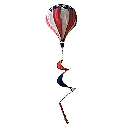 Briarwood Lane Patriotic Deluxe Hot Air Balloon Wind Twister Everyday Everyday Everyday 746