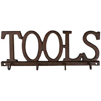 Esschert Design LH188 LH188 LH188 Tools Hooks - Cast Iron 80d
