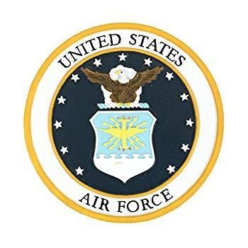 赤 Carpet Studios Studios Studios Military Plaque, Air Force b84