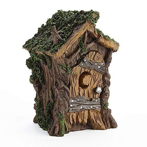Swamp Outhouse for Miniature Garden, Fairy Garden