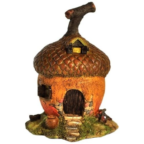 Top Collection Enchanted Story Garden and and and Terrarium Acorn Fairy House f86