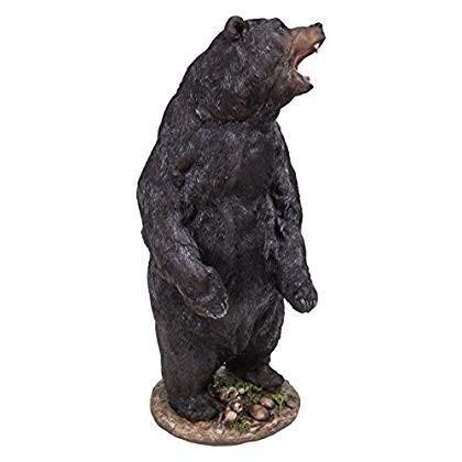 Hi-Line Gift Ltd Growling Bear Standing Statue