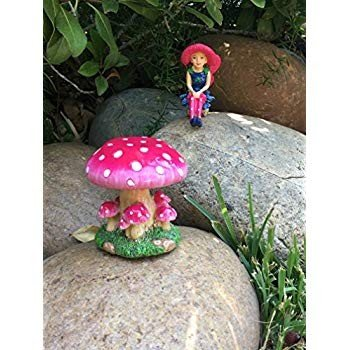 GlitZGlam Mimi The Miniature Fairy with with with a Detachable Mushroom Fairy St be6