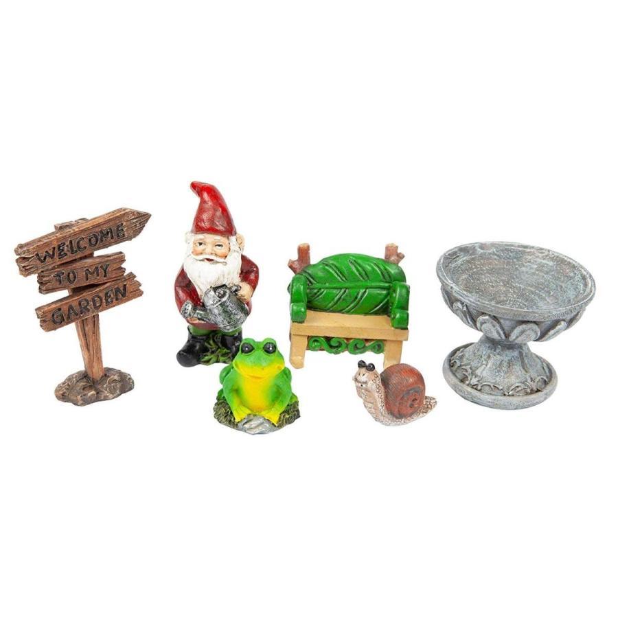 The Paragon Welcome Gnome Fairy Garden, Garden Garden Garden or Planter Accent Gnome 5d0