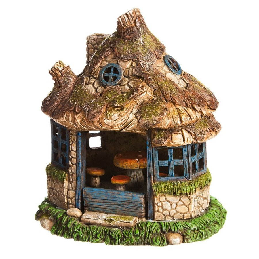 New Creative View in The Village Lighted Fairy House