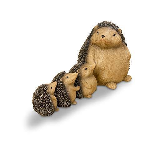WHW Whole House Worlds Garden Garden Garden Hedgehog Family Group Figurine, Mother a 8d9