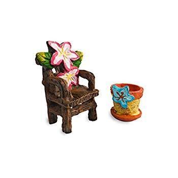 Fairy Garden Garden Garden Accessories, Fairy Garden Seating Collection, 5 piece min 5f6