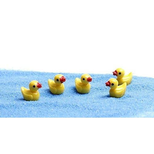 Micro Landscape Design Miniature 黄 Duck Fairy Garden Mini Ducklin