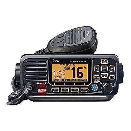 ICOM M330G 31 Icom VHF, Basic, Compact, with GPS, 黒