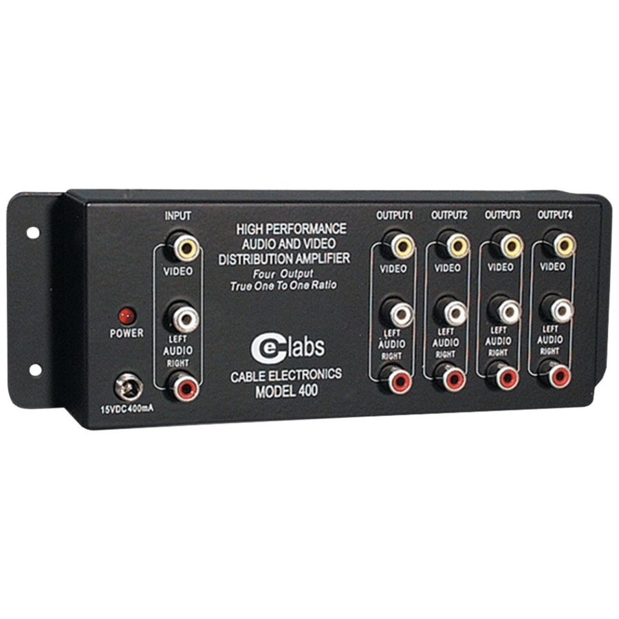 Cable Electronics Labs AV 400 Prograde Composite A/V Distribution Ampl