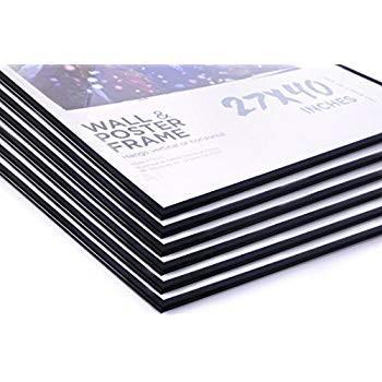 27x40 Movie Poster Frames Value Value Pack Deal (6 Frames) Basic Economy Fra