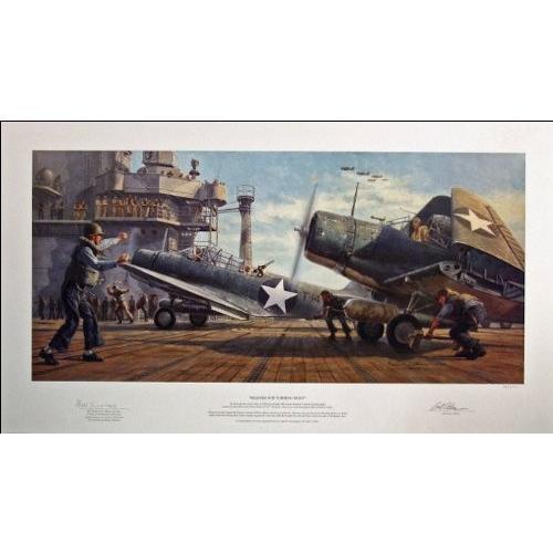 Aviator Art Art Requiem for Torpedo Eight, by Gil Cohen - 500 Limited Edit