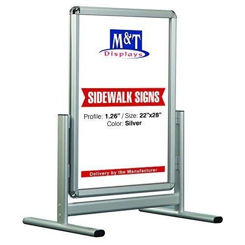 Outdoor Outdoor Snap Al Maki Open Sidewalk Poster Sign, Advertising Sidewalk D