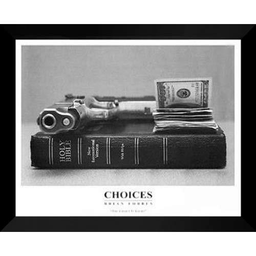 "Brian Forbes FRAMED FRAMED Art Print 24x30 ""Choices"""