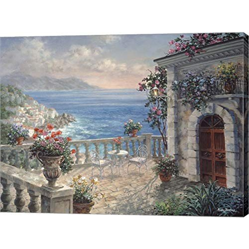 Mediterranean Elegance by Nicky Boehme Canvas Art Wall Picture, Galler