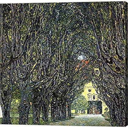 Avenue Avenue of Trees in The Park at Schloss Kammer, c.1912 by Gustav Klimt