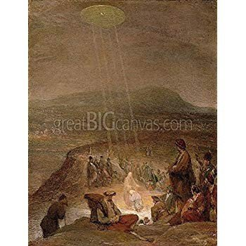 Baptism of Christ, Christ, c.1710 (Oil on Canvas) Gallery-Wrapped Canvas