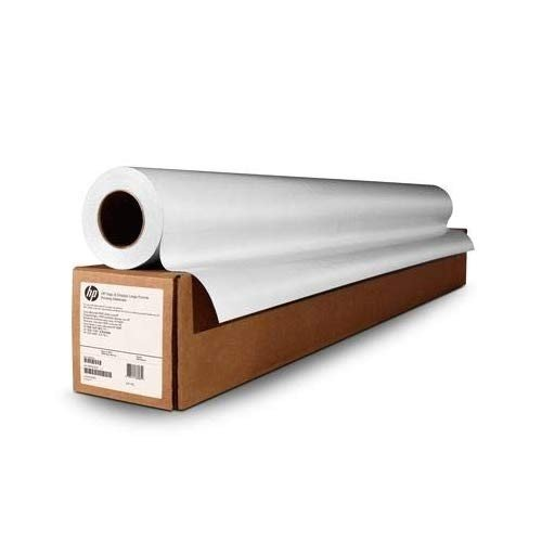 HP CH010A CH010A 白い Satin Poster Paper - 106.7cm (42in) x 61m (200ft) roll