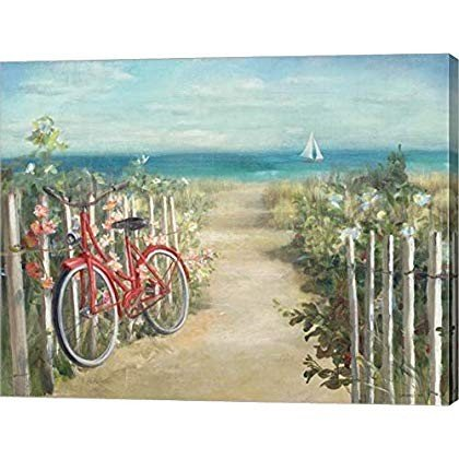 Summer Ride Crop by Danhui Danhui NAI Canvas Art Wall Picture, Gallery Wrap,