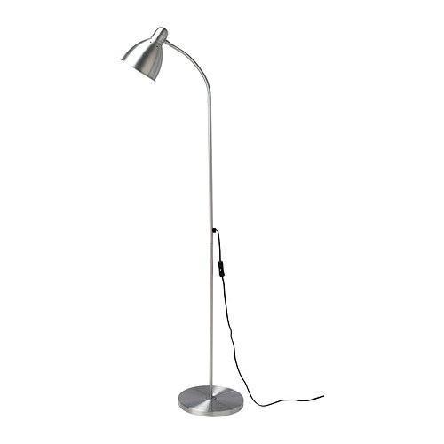 Ikea 201.109.03 Lersta Floor/Reading Lamp, Aluminum