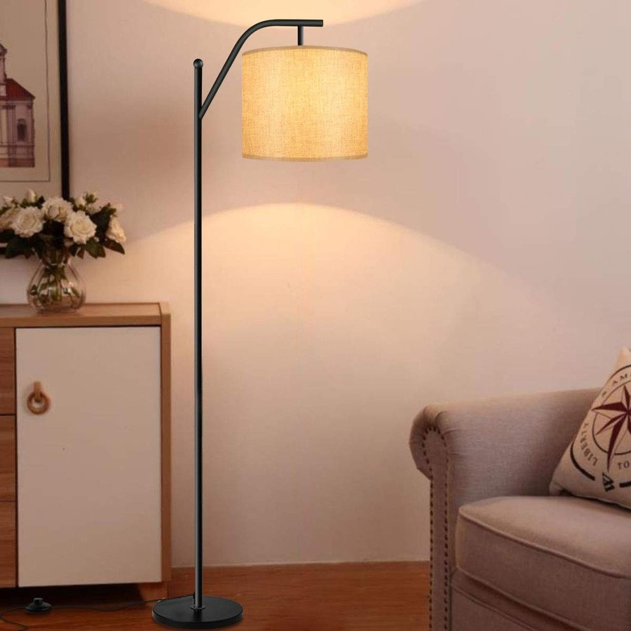 Floor lamp, Wellwerks Smart Light(with Wi-Fi Bulb),- Classic Standing