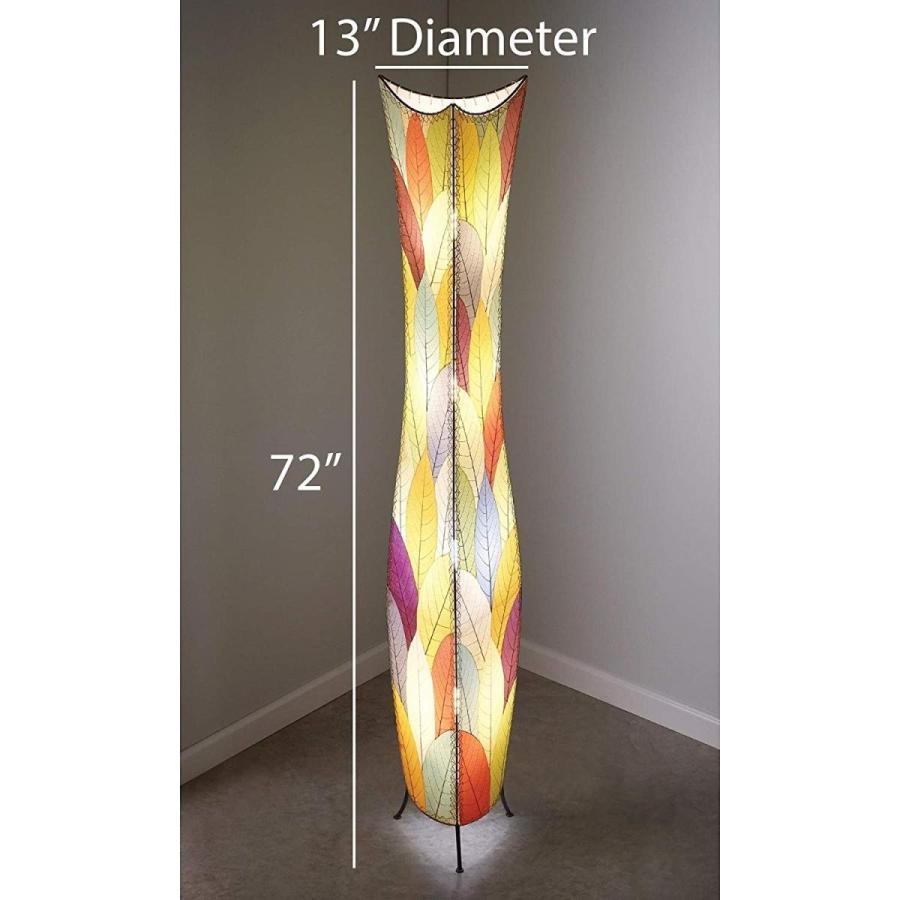 Eangee Handmade FlowerBud Giant Floor Lamp Natural