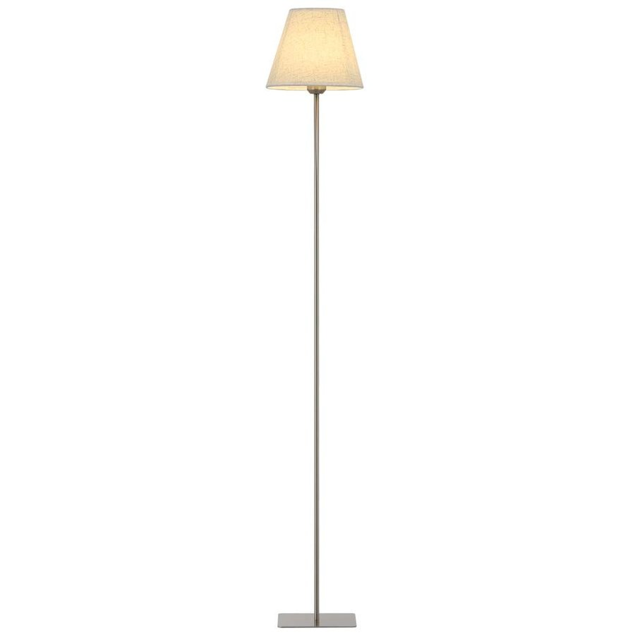 HAITRAL Modern Floor Lamp - Tall Standing Light Lamp with Fabric Shade