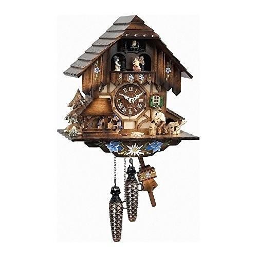 Alexander Taron 463MT Engstler Weight-Driven Cuckoo Clock-Full Size-13