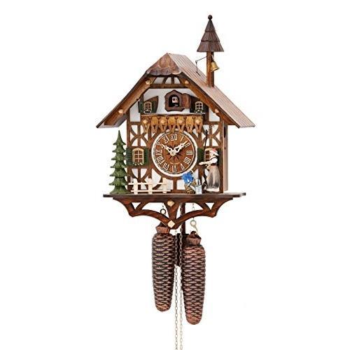 Cuckoo Clock 黒 Forest house KA 877 EX