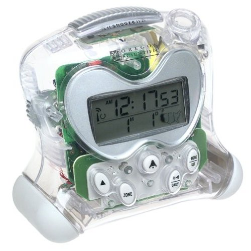Oregon Scientific RM313PA/C ExactSet Fixed Projection Alarm Clock - Cl