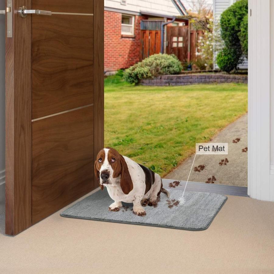 Lifewit Indoor Doormat Super Absorbent Mud and Water Low-Profile Mats