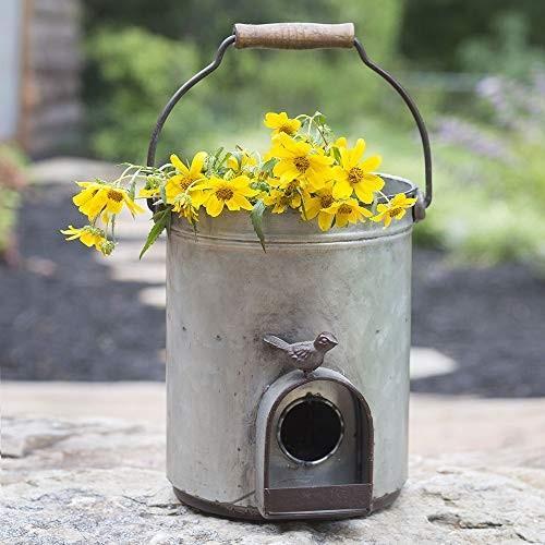 CTW CTW CTW Home Collection Bucket Birdhouse Planter f7f