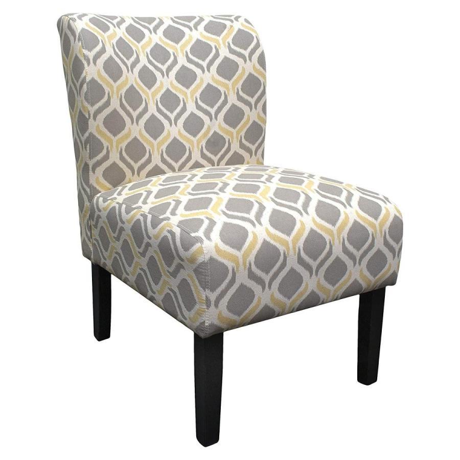 Best Master Furniture 5083 Middleton Geometric Slipper Chair, Medium