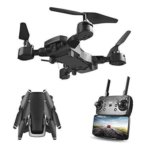 Hengfuntong-Elec WiFi FPV Drone with 1080P Camera, Foldable RC Quadcop