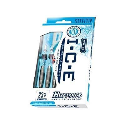 HARROWS ICE Steel Tip Darts 90% Tungsten