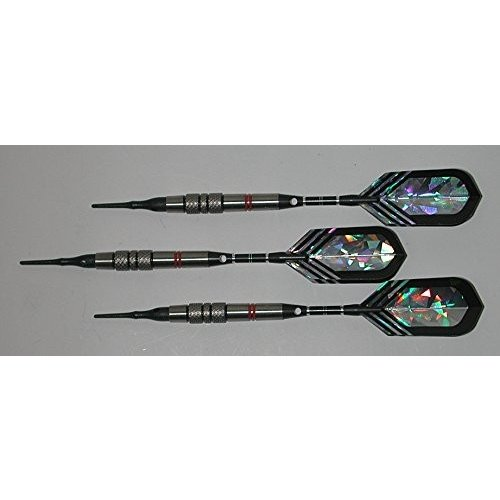 VIPER Style 6 - 18 grams, 80% Tungsten, Soft Tip Darts - Premium Packa