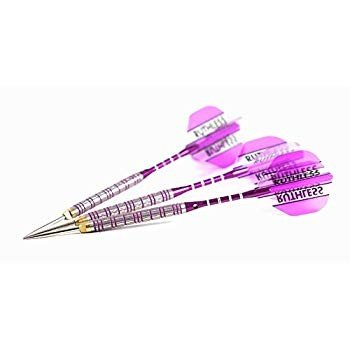 Puuurfect 紫の 21 Grams, Ghost Grip, No-Bounce, Moveable Point Darts