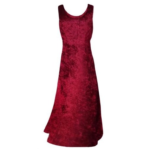 Sanctuarie Designs Women's /1x/Burgundy Crush Velvet Princess Cut Plus