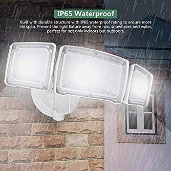 GLORIOUS-LITE 30W LED Outdoor Flood Lights, 3000LM Super Bright Securi
