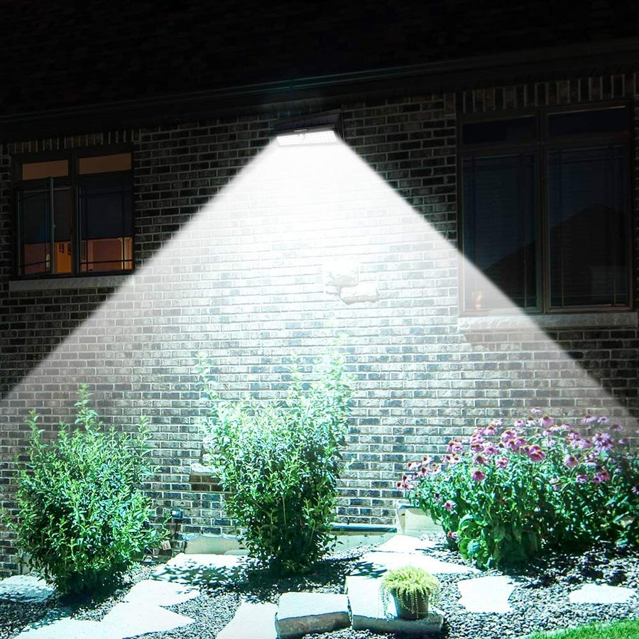 URPOWER Solar Lights, 44 LED Waterproof Motion Sensor Lights Outdoor W