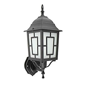 IN HOME 1-Light Outdoor Exterior Wall Up Lantern, Traditional Porch Pa