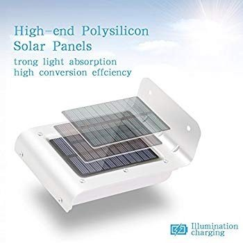 Outdoor Security Solar Motion Lights LED Solar Powe赤 Motion Sensor W
