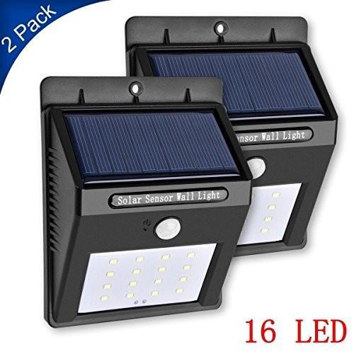 Solar Light, Foreverrise Wireless Rainproof Solar Solar Motion Sensor Light,