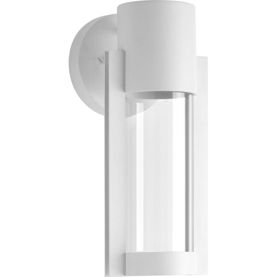 Progress Lighting P560051-030-30 Z-1030 白い 白い One-Light LED Small Wall