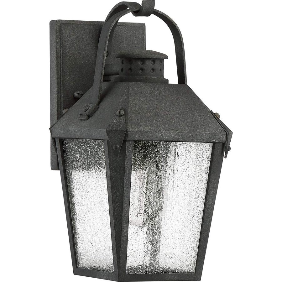 Quoizel CRG8406MB Carriage Carriage Outdoor Lantern Wall Sconce, 1-Light, 100 W